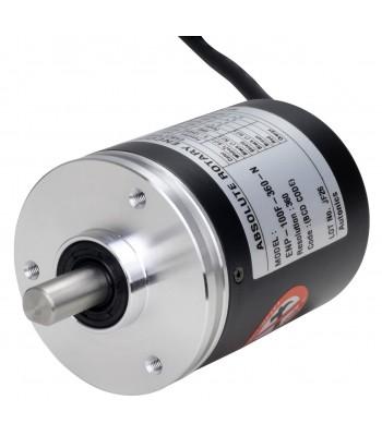 Absolute Rotary Encoder EP50S8-1024-2R-N-5 CCW  1024 Pulse NPN Binary code